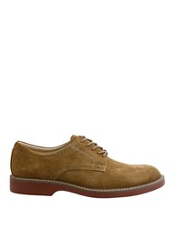 Bass Pasadena Suede Oxfords Taupe
