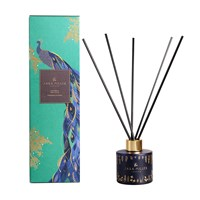 Sara Miller Printed Glass Reed Diffuser 100Ml Fig Vanilla And Cacao