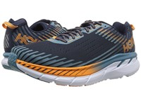 Hoka One One Clifton 5 Black Iris Storm Blue Running Shoes Multi