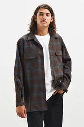 Pendleton Fitted Board Flannel Button Down Shirt Sky