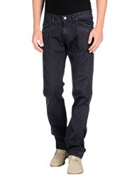 Versace Jeans Couture Denim Denim Trousers Men Dark Blue