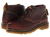 Dr. Martens Work Izzy St 3 Eye Chukka Teak Women's Lace Up Boots Brown