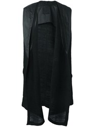 Lost And Found Ria Dunn Sleeveless Cardigan Black