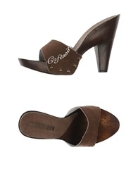 Cafe'noir Cafenoir Mules Dark Brown