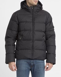 Pyrenex Black Matte Spoutnic Removable Hood Down Jacket