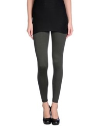 Three Dots Leggings Military Green