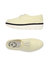 Fornarina Footwear Lace Up Shoes Women Light Yellow