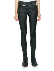 Saint Laurent Moto Leather Leggings