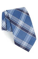 Nordstrom Men's Men's Shop Shadow Plaid Wool And Silk Tie