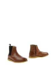 Woodwood Ankle Boots Camel