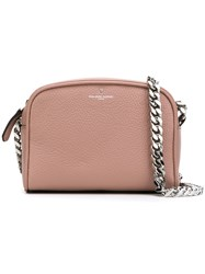 Philippe Model Embossed Logo Shoulder Bag Pink