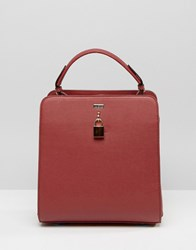 Lavand Boxy Cross Body Bag Red