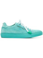 Philipp Plein Statement Sneakers Blue
