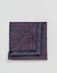 Selected Homme Pocket Square Comb7 Dark Navy Multi