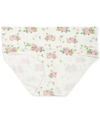 Motherhood Maternity Foldover Briefs Floral