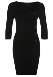Morgan Jumper Dress Black