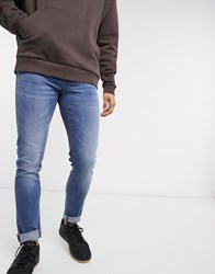 Voi Jeans Skinny In Blue Black
