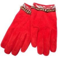 Hipanema Mano Gloves Small Medium Red