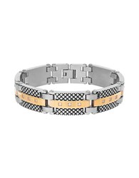 Lord And Taylor Layered Link Bracelet Silver