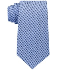 Kenneth Cole Reaction Men's Shaded Natte Tie Blue