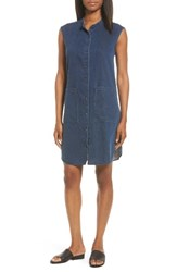 Eileen Fisher Women's Lightweight Denim Shirtdress