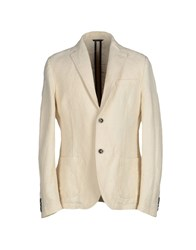 Daniele Alessandrini Suits And Jackets Blazers Men Ivory
