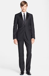 Men's Burberry London 'Millbank' Trim Fit Wool And Mohair Tuxedo