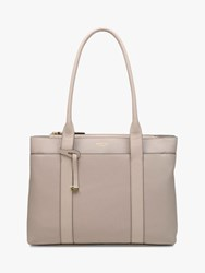 Radley Maples Place Leather Tote Bag Light Natural