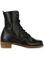 Geoffrey B. Small Lace Up Boots Black