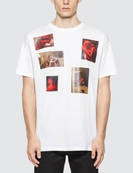 Raf Simons Big Fit 6 Pictures T Shirt White