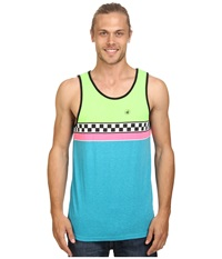 Body Glove T Street Tank Top Neon Lime Men's Sleeveless Green