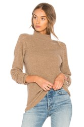 Velvet By Graham And Spencer Bailee Turtle Neck Sweater Brown