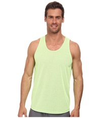 2Xist Trainer Tech Racer Mesh Tank Top Neon Yellow Black Men's Sleeveless