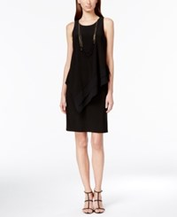 Styleandco. Style And Co. Sheath Dress With Attached Necklace Only St Macy's