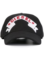 Diesel Banner Patch Cap Black