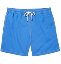 Hartford Mid Length Swim Shorts Blue