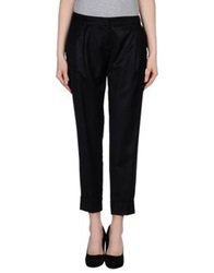 Pierre Balmain Casual Pants Black
