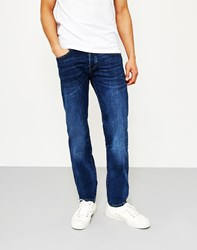 Edwin Ed 80 Slim Tapered Cs Red Listed Selvage Jeans Lido Wash Blue