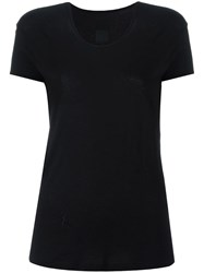 Rta Star Embroidered T Shirt Black