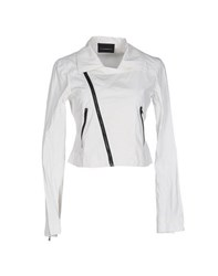 Diesel Black Gold Coats And Jackets Jackets Women Ivory