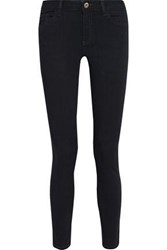 Dl1961 Woman Mid Rise Skinny Jeans Midnight Blue