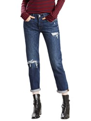 Levi's 501 Mid Rise Tapered Jeans Bolt Blue