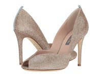 Sarah Jessica Parker Naomi Quartz Metallic Luminor Women's Toe Open Shoes Gold