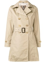 Sealup Mid Length Trench Coat Neutrals