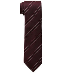 Kenneth Cole Reaction Classic Stripe Burgundy Ties