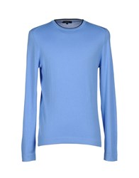 Faconnable Knitwear Jumpers Men Sky Blue