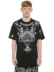 Givenchy Cuban Tattoo Print Cotton Jersey T Shirt