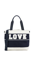 Tory Sport Love Tote Tory Navy New Ivory
