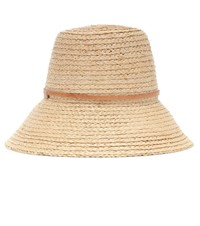 Lola Hats Exclusive To Mytheresa Beehive Raffia Hat Beige