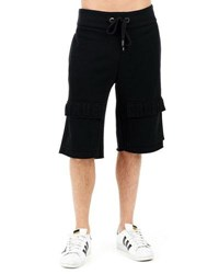 True Religion Embossed Cargo Shorts 1001 Black